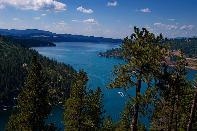 Lake Coeur d'Alene, Idaho, United States