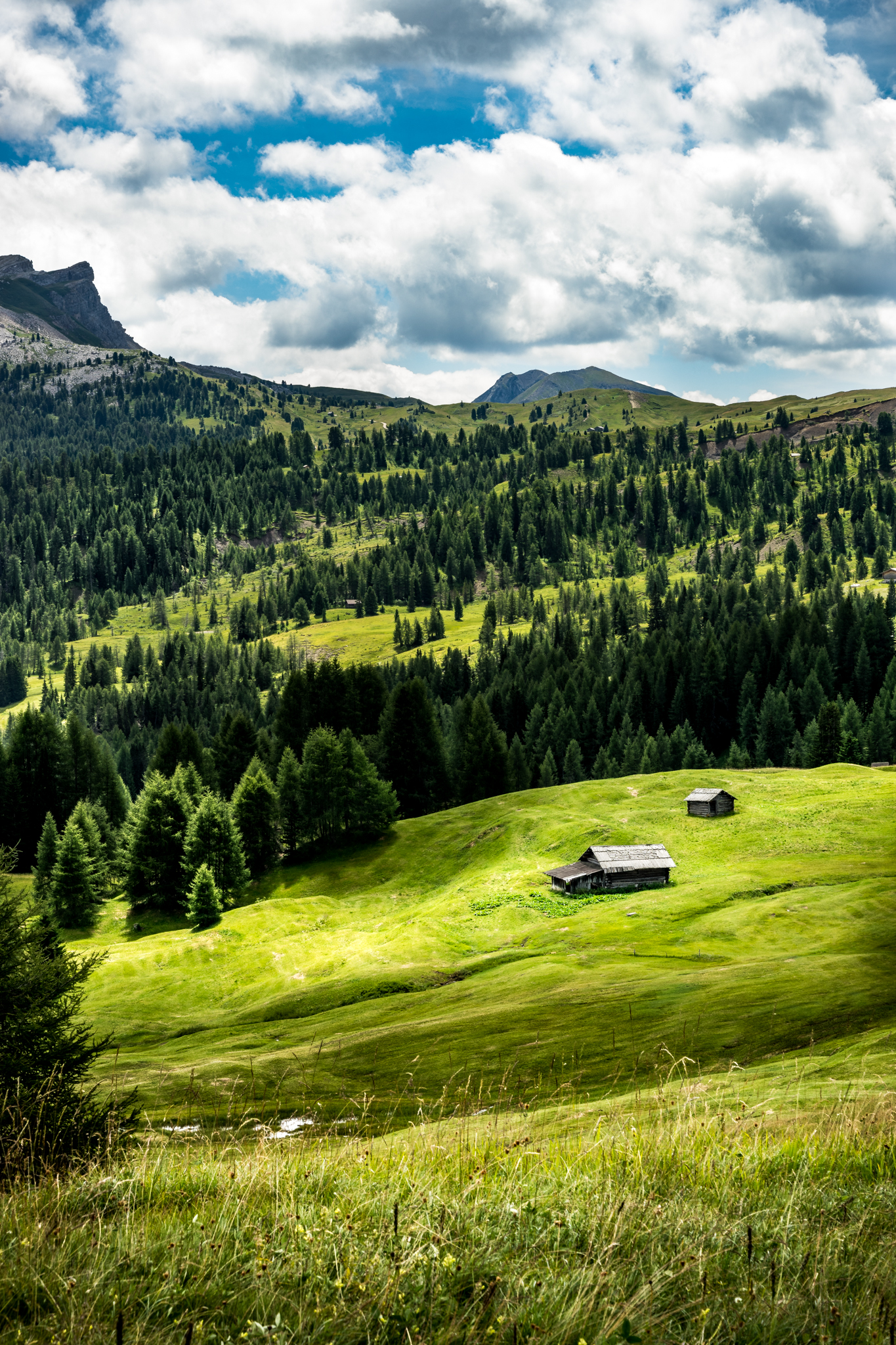 The house – Alta Badia, Italy – Travel, landscape photography